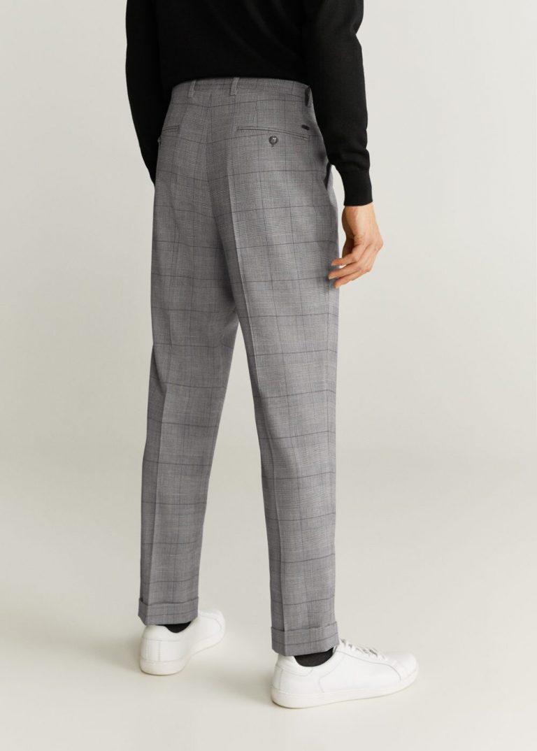MANGO - Pantalon Nolan6 - Gris Foncé