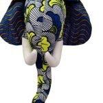 ZEBRA KIDS - Trophée Elephant - Bleu vert