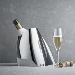 GEORG JENSEN - Rafraîchisseur à Champagne Indulgence Acier inoxydable brillant