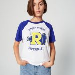 JENNYFER – T-Shirt Riverdale - Bleu