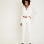 MAISON 123 - Pantalon L'Iconique Slim - Blanc