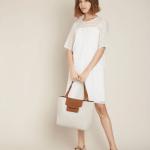 MAISON 123 - Robe Onasis Droite - Blanc