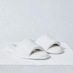 ETAM - SUITE Chaussons mules ouvertes - Blanc