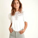 MAISON 123 - T-Shirt Diane - Ecru