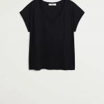 MANGO - T-Shirt Vispi - Noir