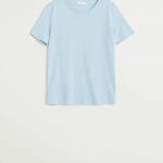 MANGO - T-Shirt Chalaca7 - Bleu