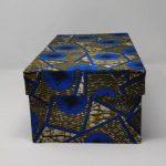 BYSLY - Boites De Rangement Grand Format - Bleu