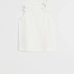 MANGO - T-Shirt  Echanty6 - Blanc