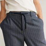 MANGO - Pantalon Nolan7- Bleu
