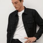 MANGO - Jeans Jan - Noir