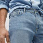 MANGO - Jeans Jan - Bleu clair