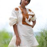 Adama Paris - Robe Malia - Blanc
