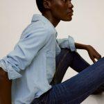 MANGO - Jeans Kim - Bleu