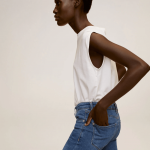 MANGO - Jeans Isa - Jean Bleu