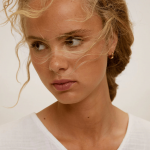 MANGO - Robe ADAM-H - Blanc