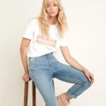 MAISON 123 - T-shirt Desert - Blanc