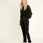 MAISON 123 - Pantalon Melie Wall - Noir
