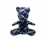 MAKEDA - Nounours pagne Grand - Bleu
