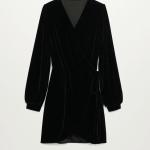 MANGO - Robe PAMELA - Noir