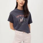 MANGO - T-Shirt Cate - Gris