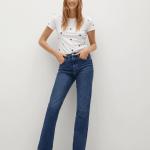 MANGO - T-Shirt Mangofi-H - Blanc