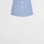MANGO - Short Lea9 - Bleu