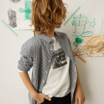 MANGO - T-Shirt  Routes - Blanc
