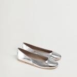 MANGO - Chaussure Banico - Gris