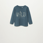 MANGO - T-Shirt  Free - Bleu