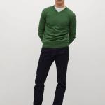 MANGO - Sweat shirt - Vert
