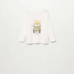 MANGO - T-Shirt Car - Blanc