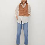 MANGO - Jeans Rachel - Bleu