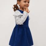 MANGO - Robe  Palma - Bleu