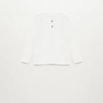 MANGO - T-Shirt Duran7 - Blanc