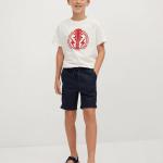 MANGO - T-Shirt  Rock - Blanc