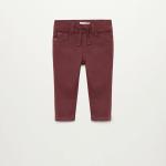 MANGO - Pantalon  Cord8 - Bordeau