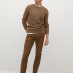 MANGO - Pantalon Bardem - Marron