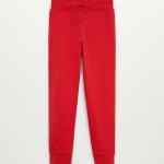 MANGO - Pantalon  Francia8 - Rouge