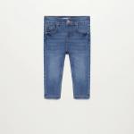 MANGO - Jeans  Diego - Bleu