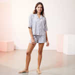 ETAM - Short de pyjama imprimé - violet