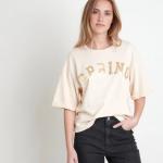 MAISON 123 - T-shirt en coton biologique - Rose