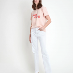 MAISON 123 - T-shirt  SÉRIGRAPHIÉ Ibiza - Rose