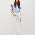 MANGO - T-Shirt Jennifer - Bleu