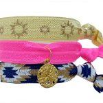 SUNSHINE LEVANT -Bracelets Elastiques Pack de 3 Dollars