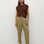 MANGO - Pantalon Nature - Kaki