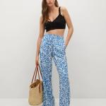 MANGO - Pantalon Mery - Bleu
