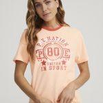 P.E NATION - t-shirt léger - Orange