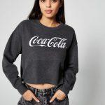 JENNYFER - Sweat court Coca-Cola - Noir
