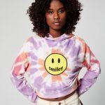 JENNYFER - Sweat à capuche Smiley - Multicolore