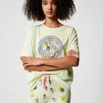 JENNYFER - Set pyjama Looney Tunes - Vert
